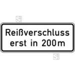 Verkehrszeichen StVO, Reißverschluss Nr. 1005-30 (Folie/Form: RA1/Flachform 2mm (Art.Nr.: 1005-30-111))