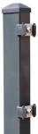 Zaunpfosten Typ PM 60 / 40 / 2mm, zum Einbetonieren