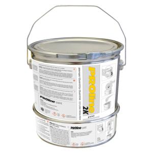 2K-Hallenbeschichtung -PROline-paint-, 2 Komponenten-Farbe, staplergeeignet, schnell trocknend (Farbe/RAL: weiß/RAL 9016 (Art.Nr.: 18767))