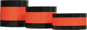 Abdeckband zum Neutralisieren von Verkehrszeichen, tagesleuchtend (Breite: 50 mm (Art.Nr.: 18634))