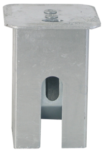 Abdeckkappe für Bodenhülse 70 x 70 mm, mit Federverschluss, Vierkant (Ausführung: Abdeckkappe für Bodenhülse 70 x 70 mm, mit Federverschluss, Vierkant (Art.Nr.: 470.21))