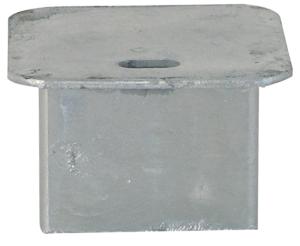 Abdeckkappe für Bodenhülse 70 x 70 mm, ohne Verschluss, Vierkant (Ausführung: Abdeckkappe für Bodenhülse 70 x 70 mm, ohne Verschluss, Vierkant (Art.Nr.: 470.20))