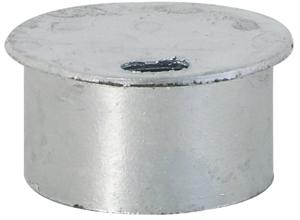 Abdeckkappe für Bodenhülse ohne Verschluss Ø 76 mm (Ausführung: Abdeckkappe für Bodenhülse ohne Verschluss Ø 76 mm (Art.Nr.: 476.20))
