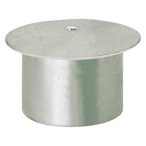 Abdeckkappe für Bodenhülsen mit Ø 76 mm (Ausführung: Abdeckkappe für Bodenhülsen mit Ø 76 mm (Art.Nr.: 14302))