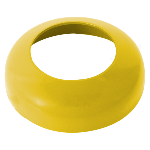 Abdeckkappe für neigbare Absperrpfosten -Bollard-, gelb (Ausführung: Abdeckkappe für neigbare Absperrpfosten -Bollard-, gelb (Art.Nr.: 477.10bg))