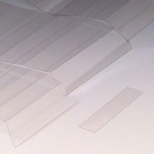Abdeckungen für Permaflex C-Profile, VPE 10 Stk. à 1 m (Höhe/Menge: 10 mm / VPE 10 Stk. à 1 m (Art.Nr.: 90.3115))