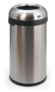 Abfallbehälter -Open Top- Simplehuman, 60 Liter aus Edelstahl (Ausführung: Abfallbehälter -Open Top- Simplehuman, 60 Liter aus Edelstahl (Art.Nr.: 18292))