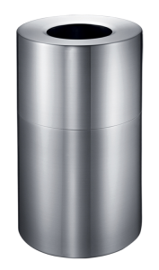 Abfallbehälter -P-Bins 116- 130 Liter aus Aluminium (Ausführung: Abfallbehälter -P-Bins 116- 130 Liter aus Aluminium (Art.Nr.: 35867))