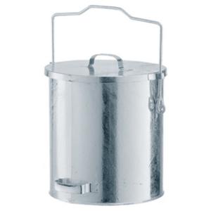 Abfallbehälter -State Denver- mit Gleitdeckel und Tragegriff - 20, 30 oder 40 Liter (Volumen/ØxH:  <b>20 Liter</b>/295x340mm  (Art.Nr.: 10333))