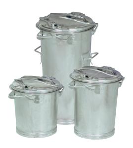 Abfallbehälter -State Lincoln- nach DIN 6628 / 6629 - 25, 35 oder 50 Liter (Volumen/Höhe:  <b>25 Liter</b>/400mm  (Art.Nr.: 10342))