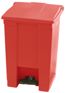 Abfallbehälter -Step On- Rubbermaid, 30, 3-87 Liter, aus PE, mit Pedal (Volumen/Farbe/Maße (HxBxT): 30,3 Liter /  <b>beige</b><br>435x413x400mm (Art.Nr.: 36720))