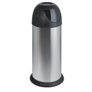 Abfallbehälter -Swing- 40 Liter aus Edelstahl, mit Schwingdeckel (Ausführung: Abfallbehälter -Swing- 40 Liter aus Edelstahl, mit Schwingdeckel (Art.Nr.: 16238))