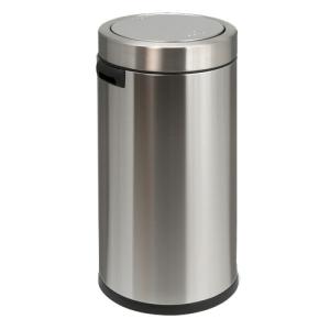 Abfallbehälter -Swing-Top- Simplehuman, 55 Liter aus Edelstahl (Ausführung: Abfallbehälter -Swing-Top- Simplehuman, 55 Liter aus Edelstahl (Art.Nr.: 16235))