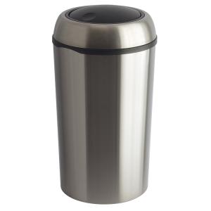 Abfallbehälter -Swing XL-, 75 Liter aus Stahl, mit Schwingdeckel (Ausführung: Abfallbehälter -Swing XL-, 75 Liter aus Stahl, mit Schwingdeckel (Art.Nr.: 16259))