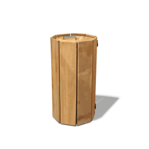 Abfallbehälter -Toro-, 100 Liter aus Holz