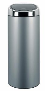 Abfallbehälter -Touch Bin Next- Brabantia, 40 Liter, aus Edelstahl, mit Touchdeckel (Farbe: Edelstahl, hochglanz (Art.Nr.: 36529))