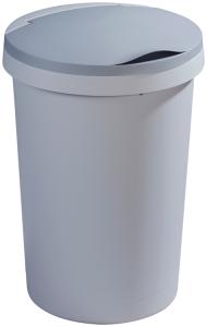 Abfallbehälter -Twinga- aus Kunststoff, 45 Liter, mit Klappdeckel (Ausführung: Abfallbehälter -Twinga- aus Kunststoff, 45 Liter, mit Klappdeckel (Art.Nr.: 35869))