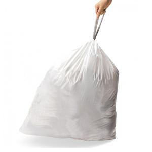 Abfallsäcke -Perfect Fit- Brabantia, 3 bis 60 Liter, Kunststoff (HDPE), weiß, für leichte Abfälle (Volumen/Verpackungseinheit:  <b>3 Liter</b>/240 Stück (Art.Nr.: 34883))