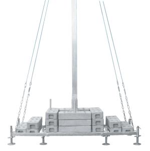 Abspannseil für Kabelüberführung (Ausführung: Abspannseil für Kabelüberführung (Art.Nr.: 24341))