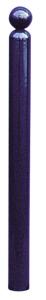 Absperr-Stilpfosten Ø 76 mm mit Kugelkopf
