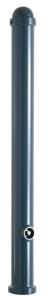 Absperr-Stilpfosten Ø 76 mm mit Zierkappe