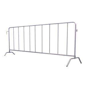 Absperrgitter Typ L -Fence- aus Stahl, Länge 2500 mm, mit angeschweißten Füßen (Ausführung: Absperrgitter Typ L -Fence- aus Stahl, Länge 2500 mm, mit angeschweißten Füßen (Art.Nr.: 419.00l))