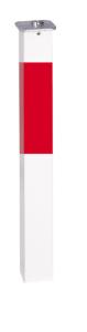 Absperrpfosten -Acero- 70x70 mm aus Aluminium, vollversenkbar