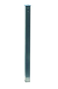 Absperrpfosten -Acero Flachkopf-, 70 x 70 mm aus Edelstahl, vollversenkbar (Schließung wählen: im versenkten Zustand  <b>nicht</b> abschließbar (Art.Nr.: 37525))