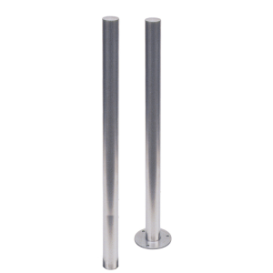 Absperrpfosten -Bollard- Ø 60 mm aus Edelstahl, zum Einbetonieren oder Aufdübeln, feststehend