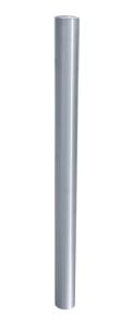 Absperrpfosten -Bollard- Ø 76 mm, Edelstahl, herausnehmbar