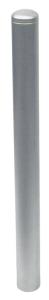 Absperrpfosten -Bollard- Ø 76 mm aus Edelstahl, zum Einbetonieren oder Aufdübeln, umlegbar