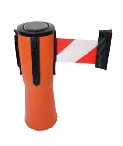Absperrsystem -P-Line- Gurtlänge 4 m, verschiedene Gurtfarben (Gurtfarbe: rot (Art.Nr.: 36804))