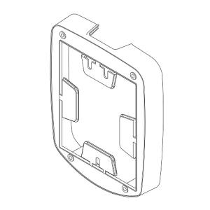 Abstandhalter für Handmelder-Abdeckung -e-Cover® groß-, für Melder bis 138 x 138 mm (Abstand (Tiefe): 18 mm (Art.Nr.: 34777))