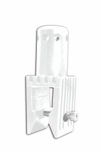 Adapter für Schrankenzaun, aus Kunststoff, nach TL, VPE 5 Stk. (Ausführung: Adapter für Schrankenzaun, aus Kunststoff, nach TL, VPE 5 Stk. (Art.Nr.: 33325))