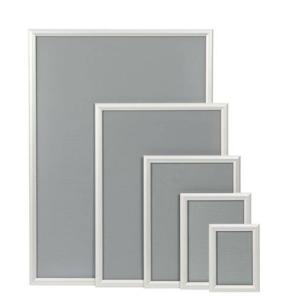 Alu-Klapprahmen, Modell -CN- und -CR- Rahmenbreite 32 mm (Modell/Außenmaß (BxH)/Poster-Format/Ecken:  <b>CR</b> 254x341mm<br>DIN A4/runde Ecken (Art.Nr.: 24398))