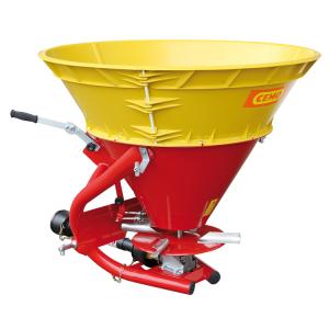 Anbaustreuer -CEMO SA260- aus Stahl mit Kunststoff-Trichteraufsatz, 260 Liter (Ausführung: Anbaustreuer -CEMO SA260- aus Stahl mit Kunststoff-Trichteraufsatz, 260 Liter (Art.Nr.: 31378))