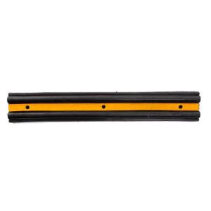 Anfahr- / Wandschutz -Stoppo- aus Gummi, Länge 1000 mm, Höhe 170 mm (Ausführung: Anfahr-/Wandschutz -Stoppo- aus Gummi, Länge 1000 mm, Höhe 170 mm (Art.Nr.: 40535))
