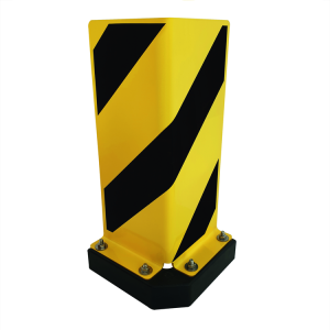 Anfahrschutz -Mountain Swing- aus Stahl, 90° mit Federelement, allseitig neigbar (Ausführung: Anfahrschutz -Mountain Swing- aus Stahl, 90° mit Federelement, allseitig neigbar (Art.Nr.: 37682))