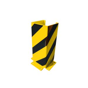 Anfahrschutz -Solid- aus Stahl, U-Form, Höhe 400, 800 oder 1200 mm, nach BGR 234 und DIN 4844 (Höhe/Stärke: 400 mm / 5 mm (Art.Nr.: 18778))