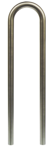 Anlehnbügel / Absperrbügel -Bern- Ø 48 mm aus Stahl, Höhe 1000 mm