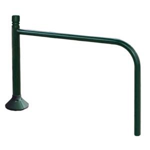 Anlehnbügel -Trend- Ø 60 mm aus Stahl, Höhe 780 mm, zum Einbetonieren
