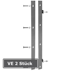 Anschlussleisten für Zaun- und Torsysteme, VE 2 Stück