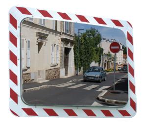 Anti-Frost /Anti-Beschlag Spiegel Vialux®, ohne elektr. Einrichtung (Maße (BxH)/Max. Beobachterabstand/Gewicht: 600x400 mm/ca. 9m/21 kg (Art.Nr.: 20007))