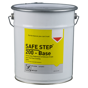 Antirutsch-Bodenbeschichtung -SAFE STEP 200-, 5 Liter, für Gabelstaplerverkehr, versch. Farben (Farbe: grau (Art.Nr.: 35017))