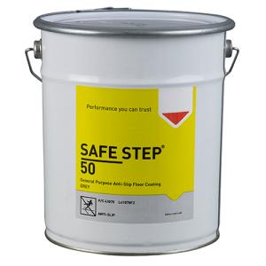 Antirutsch-Bodenbeschichtung -SAFE STEP 50-, 5 Liter, für den Einsatz auf großen Flächen, grau (Ausführung: Antirutsch-Bodenbeschichtung -SAFE STEP 50-, 5 Liter, für den Einsatz auf großen Flächen, grau (Art.Nr.: 35013