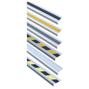 Antirutsch-Treppenkantenprofil -Easy Clean-, Rutschhemmung R10, zum Verschrauben o. selbstklebend