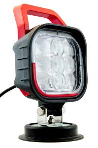 Arbeitsscheinwerfer mit Magnetfuß, schwenkbarer Leuchtkopf, 22 W (1490 lm) (Ausführung: Arbeitsscheinwerfer mit Magnetfuß, schwenkbarer Leuchtkopf, 22 W (1490 lm) (Art.Nr.: 37280))