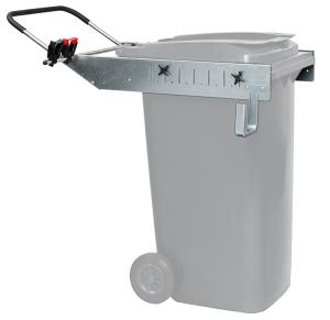 Aufsatzrahmen -Supporter Lift- für 1 Abfallbehälter à 240 Liter, aus Stahl (Ausführung: Aufsatzrahmen -Supporter Lift- für 1 Abfallbehälter à 240 Liter, aus Stahl (Art.Nr.: 35754))