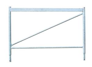 Aufsatzteil für Universal- und Kurbelgerüstböcke, Höhe 1000 mm (Breite/Oberfläche: 1,20m Breite/lackiert (Art.Nr.: 11273))