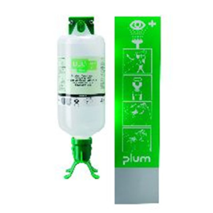 Augenspülstation -PLUM DUO-, inkl. 1000 ml Augenspülflasche, zur Wandmontage (Ausführung: Augenspülstation -PLUM DUO-, inkl. 1000 ml Augenspülflasche, zur Wandmontage (Art.Nr.: 25950))
